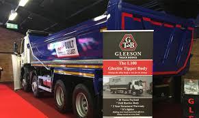 gleeson truck bodies showcases l100 gleelite tipper body