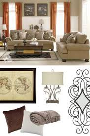 Patterned Loveseats Bradington Truffle Loveseat At Ashley Furniture In Tricities