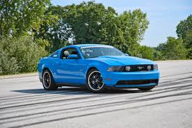2011 mustang gt performance mods a cheap easy way to lower your mustang americanmuscle com