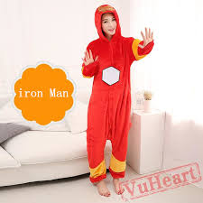iron man onesie costume u0026 pajamas halloween costumes