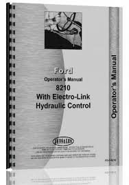 ford 8210 tractor operators manual