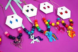 my pony earrings my pony shrink plastic jewelry happiness is