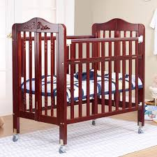 Pali Cribs Orbelle Natalie 3 In 1 Folding Portable Crib Hayneedle