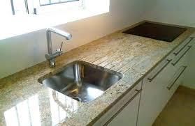 plan de travail cuisine en resine evier resine granit evier cuisine granit evier cuisine granit beige