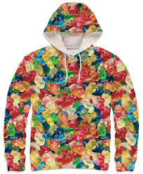 gummy clothes gummy hoodie bears hoodie and clothing