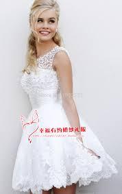 plus size short western wedding dresses clothing for large ladies