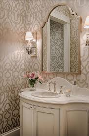 bathroom wallpaper ideas best 25 powder rooms ideas on pinterest tiled walls in bathroom