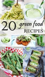 20 green food recipes california grown