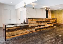 Wood Reception Desk Custom Designs Arnold Contract