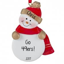 san francisco 49ers ornaments gifts ornaments for you