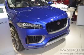 subaru india jaguar f pace suv showcased at 2016 auto expo wagenclub