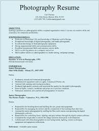 Best Quality Resume Format by Resume Examples 10 Best Photography Resume Template Download For