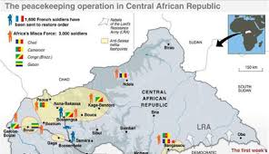 africa map review un warns of genocide in central africa africa review