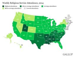 Utah Map Usa by Map The Most Religious States In America The Washington Post