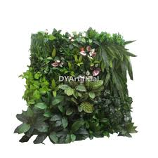 Fake Plants For Home Decor 2x1m Artificial Plants Wall For Coffee Hotel Decor Dongyi