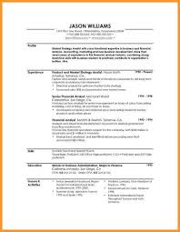 Resume Activities Section 8 Resume Profile Section Bird Drawing Easy