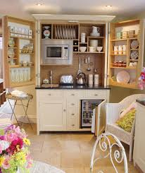 inspiring ideas for compact kitchen with wooden backsplash and