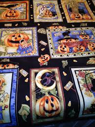 halloween panels to contemplate crystal vision quilting