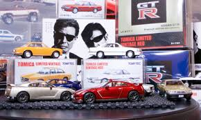 tomica nissan march lamley unboxing tomica limited vintage nissan gt r u0027s and the