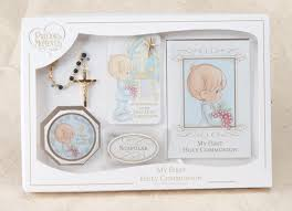 communion gifts for boys precious moments