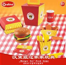 jeux de cuisine frite onshine en bois cuisine alimentaire jouets pour enfants 26 pcs