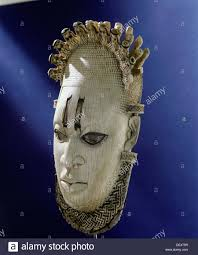 an ornamental mask which formed part of the regalia of the benin