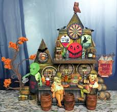 halloween i spy book room full of eyes black background artfully musing halloween haunted village event part 1