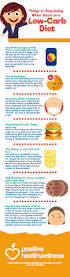 things to stop doing when you u0027re on a low carb diet u2013 infographic