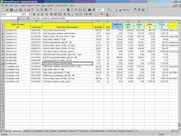 Pricing Spreadsheet Template Cost Analysis Spreadsheet Template Virtren Com