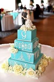 white and blue wedding cake party delights bakery raleigh nc