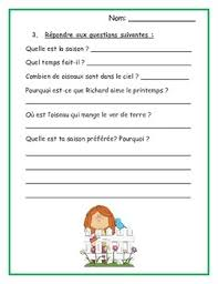french reading comprehension worksheets beginners mediafoxstudio com