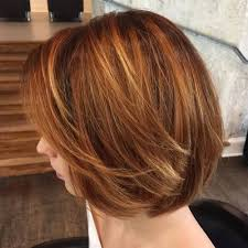 copper and brown sort hair styles 20 edgy ways to jazz up your short hair with highlights red bob