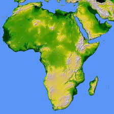 Africa Continent Map by Free Images Wind Land Africa Map Geography Atlas Coloring