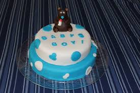 teddy bear baby boy baby shower fondant cake penny u0027s food blog