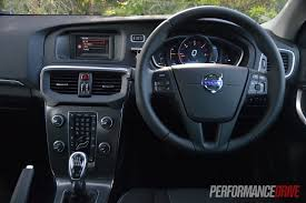 V40 Volvo Review 2013 Volvo V40 D4 Kinetic Review Video Performancedrive