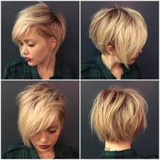 ladies hairstyles short on top longer at back best 25 short hair long bangs ideas on pinterest short cuts