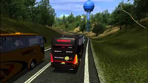 game bus simulator mod indonesia for android ukts indonesia map and bus mod youtube