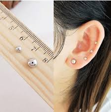 magnetic stud earrings aliexpress buy 3mm 6 mm mini l no pierced magnet stud