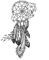 coloring pages of indian feathers coloring pages dream catchers kids coloring