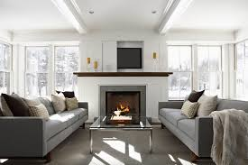 how to decorate living room with fireplace mantel decorating ideas freshome
