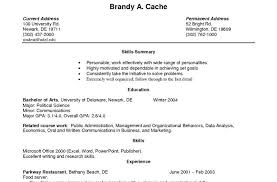 resume exles with no work experience resume exle for highschool students template resumes 3