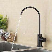 black faucets matte black stainless steel lead free beverage faucet drinking water