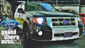 ford escape tuning gta v redux extreme graphics youtube