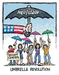mike flugennock political cartoons archive umbrella revolution