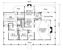 southern style house plan 3 beds 2 baths 1944 sq ft plan 57 329
