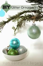 glitter covered ornaments handmade ornament no 21
