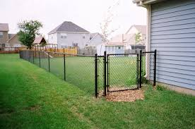 Types Of Backyard Fencing Chain Link Fence Installation U0026 Repair Company Chicago Il
