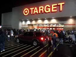 target opening for black friday target opening at 4 a m black friday 2010 in lancaster ohio youtube