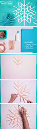 giant popsicle stick snowflakes diy christmas decorations for