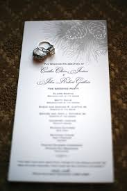 christmas wedding programs christmas wedding inspiration the overwhelmed wedding